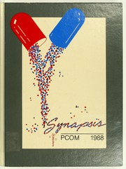 1988 Edition, Philadelphia College of Osteopathic Medicine - Synapsis Yearbook (Philadelphia, PA)