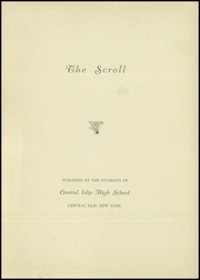 Page 3, 1938 Edition, Central Islip High School - Yearbook (Central Islip, NY) online yearbook collection