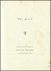 Page 3, 1939 Edition, Central Islip High School - Yearbook (Central Islip, NY) online yearbook collection