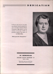 Page 5, 1934 Edition, North Tonawanda High School - Northstar Yearbook (North Tonawanda, NY) online yearbook collection