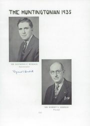 Page 13, 1935 Edition, Huntington High School - Huntingtonian Yearbook (Huntington, NY) online yearbook collection