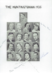 Page 15, 1935 Edition, Huntington High School - Huntingtonian Yearbook (Huntington, NY) online yearbook collection