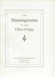 Page 5, 1935 Edition, Huntington High School - Huntingtonian Yearbook (Huntington, NY) online yearbook collection