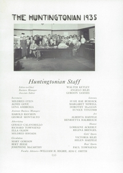 Page 9, 1935 Edition, Huntington High School - Huntingtonian Yearbook (Huntington, NY) online yearbook collection
