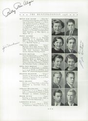 Page 16, 1936 Edition, Huntington High School - Huntingtonian Yearbook (Huntington, NY) online yearbook collection