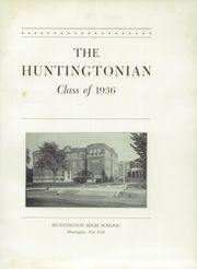 Page 5, 1936 Edition, Huntington High School - Huntingtonian Yearbook (Huntington, NY) online yearbook collection