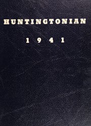 1941 Edition, Huntington High School - Huntingtonian Yearbook (Huntington, NY)
