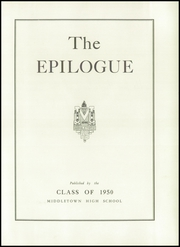 Page 7, 1950 Edition, Middletown High School - Epilogue Yearbook (Middletown, NY) online yearbook collection