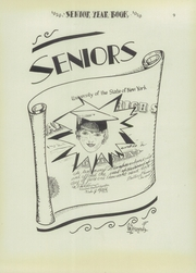 Page 11, 1929 Edition, Niagara Falls High School - Niagarian Yearbook (Niagara Falls, NY) online yearbook collection