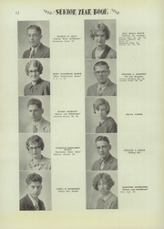 Page 14, 1929 Edition, Niagara Falls High School - Niagarian Yearbook (Niagara Falls, NY) online yearbook collection