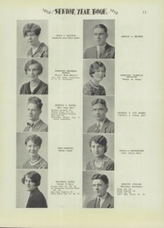 Page 15, 1929 Edition, Niagara Falls High School - Niagarian Yearbook (Niagara Falls, NY) online yearbook collection