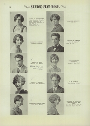 Page 16, 1929 Edition, Niagara Falls High School - Niagarian Yearbook (Niagara Falls, NY) online yearbook collection