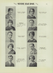 Page 17, 1929 Edition, Niagara Falls High School - Niagarian Yearbook (Niagara Falls, NY) online yearbook collection
