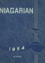 1954 Edition, Niagara Falls High School - Niagarian Yearbook (Niagara Falls, NY)