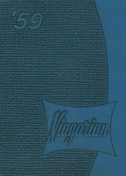 1959 Edition, Niagara Falls High School - Niagarian Yearbook (Niagara Falls, NY)
