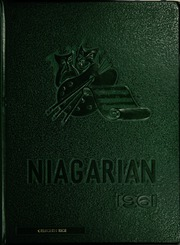 1961 Edition, Niagara Falls High School - Niagarian Yearbook (Niagara Falls, NY)