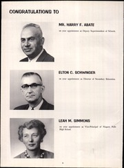 Page 10, 1961 Edition, Niagara Falls High School - Niagarian Yearbook (Niagara Falls, NY) online yearbook collection