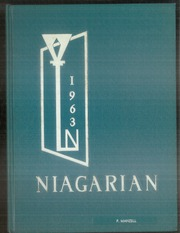 1963 Edition, Niagara Falls High School - Niagarian Yearbook (Niagara Falls, NY)