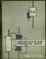 1964 Edition, Niagara Falls High School - Niagarian Yearbook (Niagara Falls, NY)