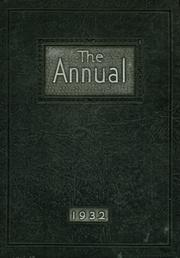 1932 Edition, Watertown High School - Annual Yearbook (Watertown, NY)
