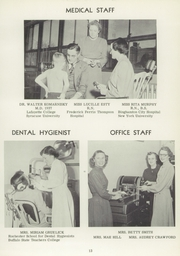Page 13, 1951 Edition, Vestal High School - Den Yearbook (Vestal, NY) online yearbook collection