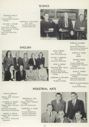 Page 15, 1951 Edition, Vestal High School - Den Yearbook (Vestal, NY) online yearbook collection