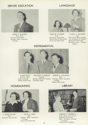 Page 17, 1951 Edition, Vestal High School - Den Yearbook (Vestal, NY) online yearbook collection