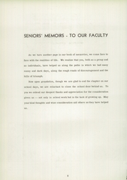Page 10, 1952 Edition, Vestal High School - Den Yearbook (Vestal, NY) online yearbook collection