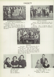Page 16, 1952 Edition, Vestal High School - Den Yearbook (Vestal, NY) online yearbook collection