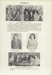 Page 17, 1952 Edition, Vestal High School - Den Yearbook (Vestal, NY) online yearbook collection