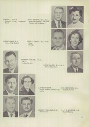 Page 15, 1956 Edition, Vestal High School - Den Yearbook (Vestal, NY) online yearbook collection