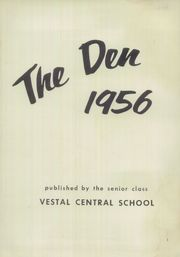 Page 5, 1956 Edition, Vestal High School - Den Yearbook (Vestal, NY) online yearbook collection