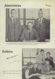 Page 9, 1956 Edition, Vestal High School - Den Yearbook (Vestal, NY) online yearbook collection