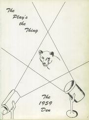 Page 5, 1959 Edition, Vestal High School - Den Yearbook (Vestal, NY) online yearbook collection