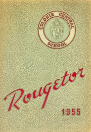 1955 Edition, Colonie Central High School - Rougetor Yearbook (Albany, NY)
