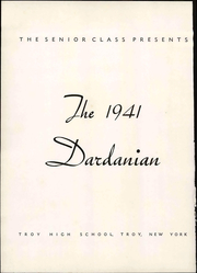 Page 8, 1941 Edition, Troy High School - Dardanian Yearbook (Troy, NY) online yearbook collection