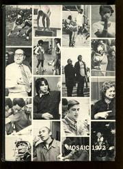 George W Wingate High School - Mosaic Yearbook (Brooklyn, NY) online yearbook collection, 1972 Edition, Page 1