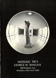 Page 5, 1972 Edition, George W Wingate High School - Mosaic Yearbook (Brooklyn, NY) online yearbook collection