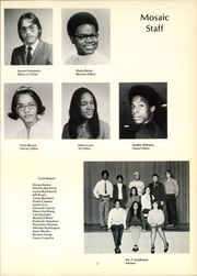 Page 7, 1972 Edition, George W Wingate High School - Mosaic Yearbook (Brooklyn, NY) online yearbook collection