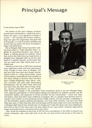 Page 9, 1972 Edition, George W Wingate High School - Mosaic Yearbook (Brooklyn, NY) online yearbook collection
