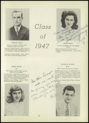 Page 39, 1947 Edition, Suffern High School - Panorama Yearbook (Suffern, NY) online yearbook collection