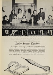 Page 17, 1958 Edition, Julia Richman High School - Spotlight Yearbook (New York, NY) online yearbook collection