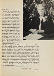 Page 9, 1958 Edition, Julia Richman High School - Spotlight Yearbook (New York, NY) online yearbook collection
