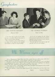 Page 16, 1945 Edition, Mamaroneck High School - Mahiscan Yearbook (Mamaroneck, NY) online yearbook collection