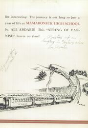 Page 9, 1948 Edition, Mamaroneck High School - Mahiscan Yearbook (Mamaroneck, NY) online yearbook collection