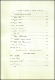 Page 14, 1924 Edition, Auburn High School - Arrow Yearbook (Auburn, NY) online yearbook collection