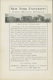 Page 6, 1914 Edition, Morris High School - Yearbook (Bronx, NY) online yearbook collection