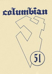 1951 Edition, Columbia High School - Columbian Yearbook (East Greenbush, NY)
