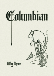 1953 Edition, Columbia High School - Columbian Yearbook (East Greenbush, NY)
