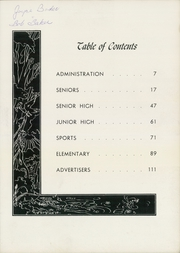 Page 9, 1955 Edition, Columbia High School - Columbian Yearbook (East Greenbush, NY) online yearbook collection